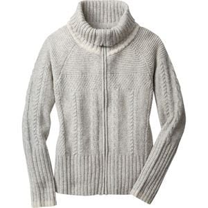 Crestone Full-Zip Sweater - Women's Natural Heather, L - Excellent