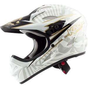 Savara Full-Face Helmet Psycko/White, S - Like New