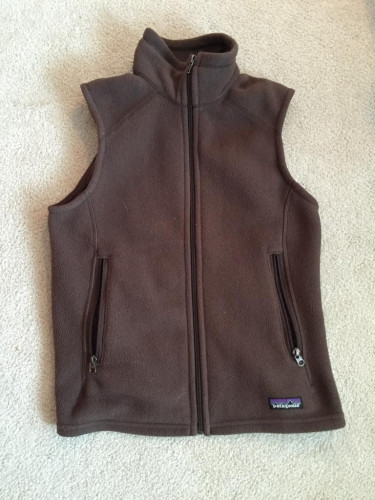 Women's Patagonia Synchilla Vest - Brown, Small