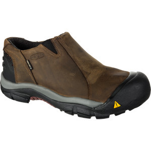 Brixen Low Boot - Men's Slate Black/Madder Brown,