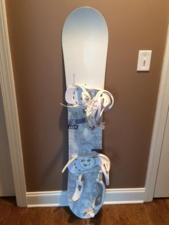 BURTON LUX women's 147 board, boots, and bindings