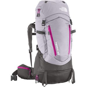 Terra 40 Backpack - Women's - 2441-2563cu in Dapple Grey/Fuchsia Pink,