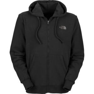 Logo Full-Zip Hoodie - Men's TNF Black/Graphite Gr