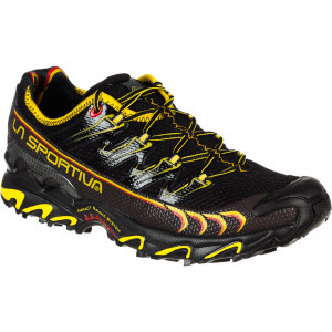 Ultra Raptor Trail Running Shoe - Men's Black/Yellow, 41.5 - Excellent