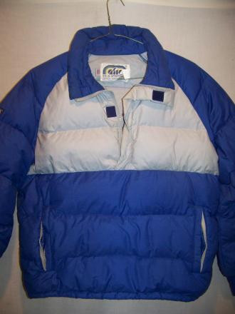 Vintage AFRC Down Jacket Pullover Sweater, Medium