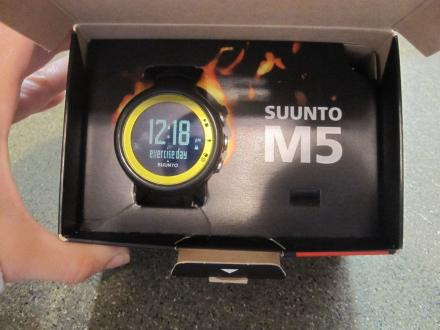 Women's Suunto M5 Watch / Heart Rate Monitor