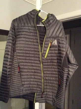 Eddie Bauer 800 Fill Down Hooded Jacket