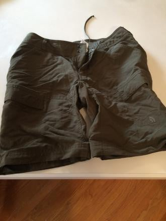 North face zip-off hiking pants size 6L