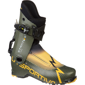 Stratos Cube Alpine Touring Boot Carbon/Yellow, 28.0 - Good