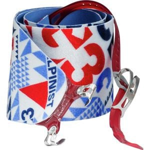 Alpinist Climbing Skin Red/Blue, 115mm - Short - Like New