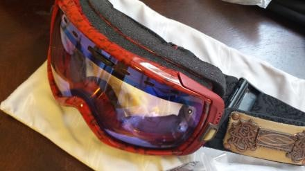 SMITH x CAPPEL Heiress snow goggle w 4 lenses