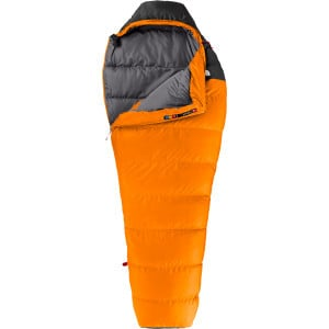 Furnace Sleeping Bag: 35 Degree Down Russet Orange/Asphalt Grey, Long/