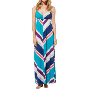 Fire Bloom Maxi Dress - Women's Tile Blue Maxi Str