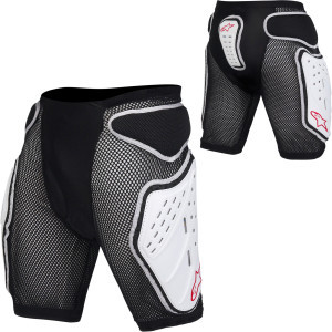 MTB Bionic Men's Shorts Black/White, XL - Excellen
