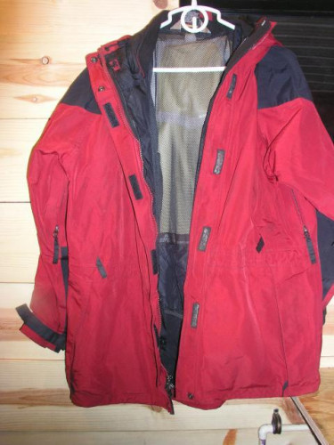 EMS Goretex Mountain Parka Size Womans Large