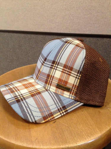 prAna Alfie Ball Cap, Espresso Plaid