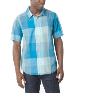 Brighton Shirt - Short-Sleeve - Men's  Baja Blue,