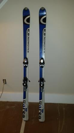 Solomon skis and bindings