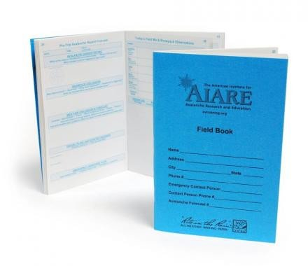 AIARE Avalanche forecaster's Field Book