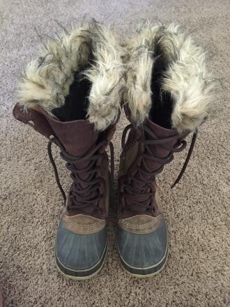 Sorel Cate The Great Tan/Brown Size 7