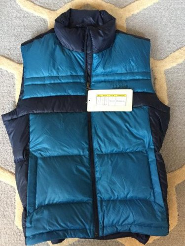 LL Bean Down Vest (NEW w/ Tags) - Men's Large