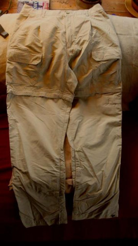 Women's Royal Robbins Convertible Hiking Pants – Size 12 - Light Tan