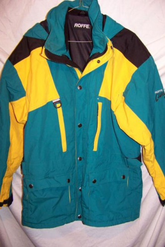 Roffe Challenge Waterproof Rain Ski Jacket, Men's Medium