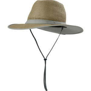 Papyrus Brim Hat Khaki, L - Good