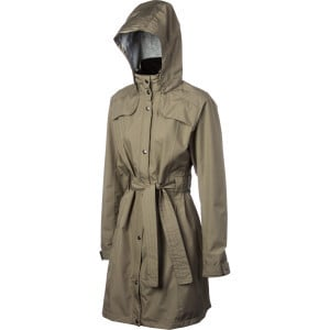 Belted Trench Coat - Women's Linen, XL - Like New