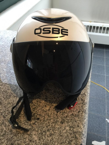 Never used OSBE ski helmet