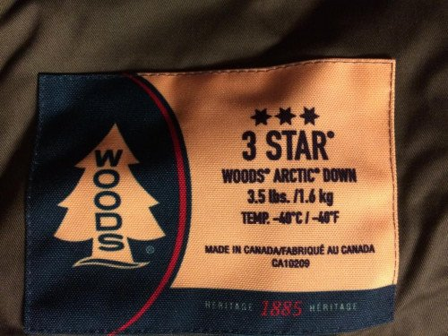 Woods Arctic 3 Star Sleeping Bag