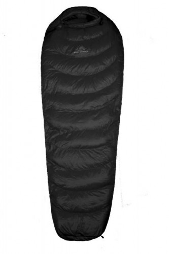 Hyke & Byke Quandary 15°F Down Sleeping Bag - Black Size Regular