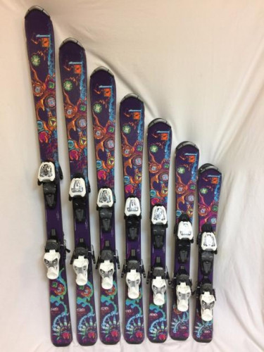 // Nordica Cinnamon Girl // Jr ski // Used // 130CM //