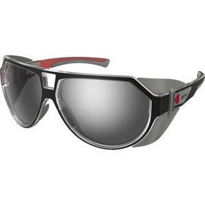 Tsuga Sunglasses  Black-Red-Grey Xtal / Grey, One Size - Excellent