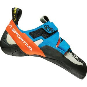 Otaki Climbing Shoe - Men's Blue/Flame, 40.0 - Good