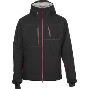 Bombshell Insulated Jacket - Men's Black/Oxblood,