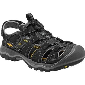 Rialto H2 Sandal - Men's Black/Gargoyle, 10.5 - Good