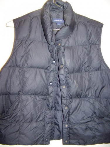 Lands' End Down Vest, WM XL 18-20