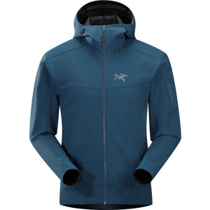 Epsilon LT Softshell Hooded Jacket - Men's Blue Mo