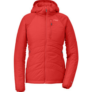Cathode Insulated Hooded Jacket - Women's Flame/Re