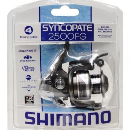 New- Shimano Syncopate 2500fg Spinning Reel