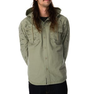 Surplus Hooded Shirt - Long-Sleeve - Men's Army Dr