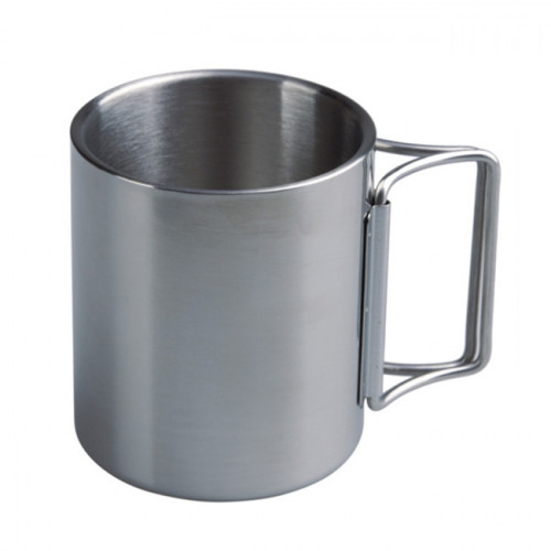 Stainless Steel Double Wall Cup 10oz (New Product Damaged Packaging)