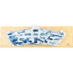 Simulator 3D Backcountry Fingerboard Backboard Combo One Color, One Si