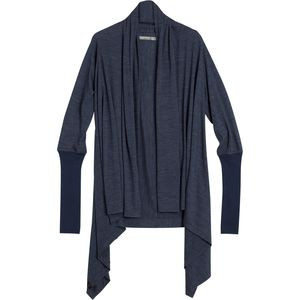 Sydney Wrap - Women's Fathom Heather/Admiral, S - Like New