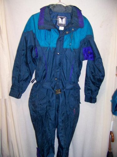 Couloir One Piece Onsie Ski Suit, Mens 42 Medium