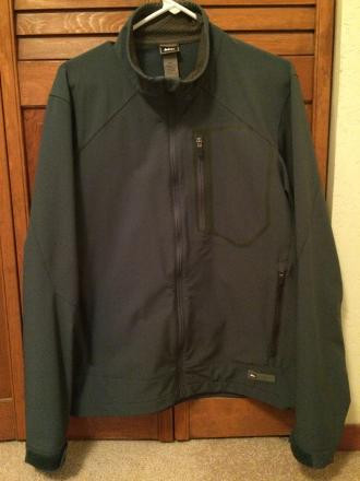 REI Softshell Jacket, Men's Medium, Blue