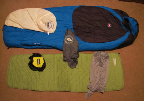 6 PIECE SET--LIKE NEW Big Agnes Lost Ranger 15 SET