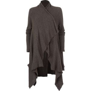 Waterfall Cardigan - Women's Taupe, XS - Excellent