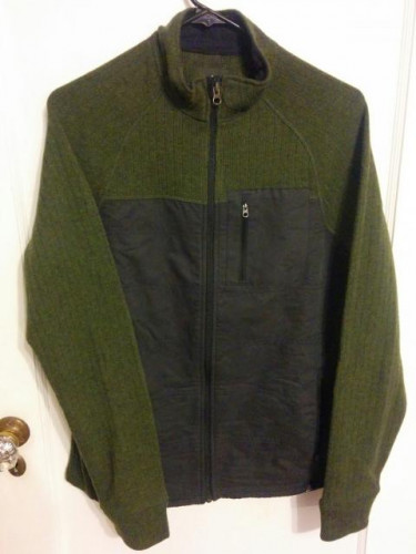 New Prana Sweater Green